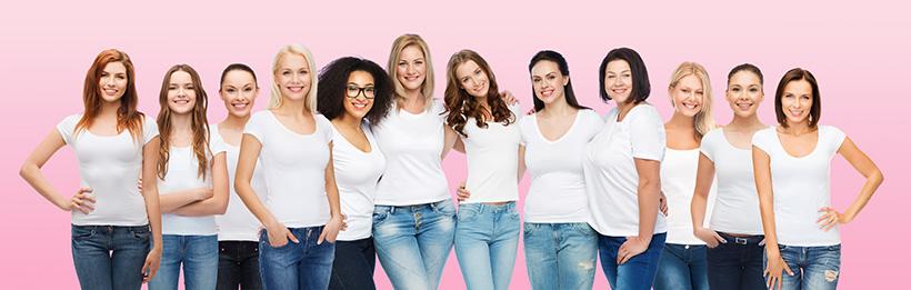 Gruppe von Frauen