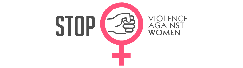 Formen von Gewalt - Zeichen, dass gegen Gewalt gegen Frauen spricht